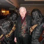 John Clayton with Planet of The Apes Characters